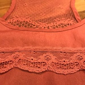 Lush Lace Cami Tank (medium) Super Sexy